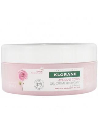 Клоран Гель-крем для тела увлажняющий с экстрактом пиона 200 мл Klorane Spray Gel cream Peony (84748)