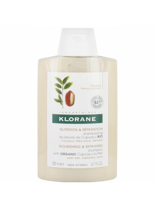 Клоран Шампунь для волос С органическим маслом купуасу 200 мл Klorane (С94312)