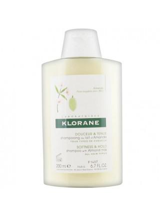 Клоран Шампунь для волос с молочком МИНДАЛЯ для частого применения 200 мл