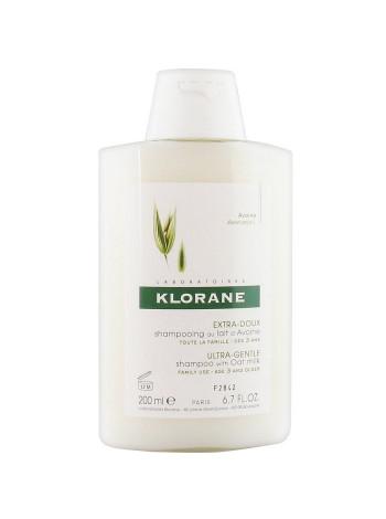Клоран Шампунь для волос с молочком ОВСА сверхмягкий для частого применения 200 мл