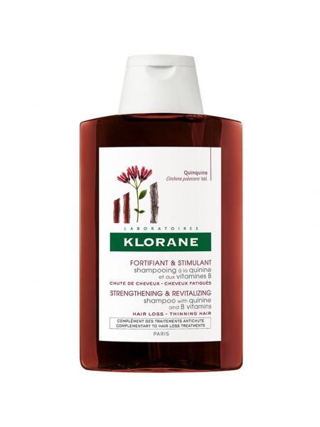 Клоран Шампунь для волос с экстрактом ХИНИНА и витаминами В укрепляющий 200 мл
