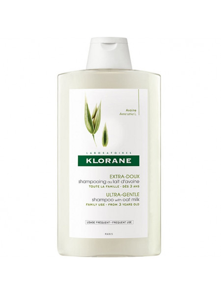Клоран Шампунь для волос с молочком ОВСА сверхмягкий для частого применения 400 мл