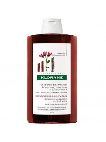 Клоран Шампунь для волос с экстрактом ХИНИНА и витаминами В укрепляющий 400 мл