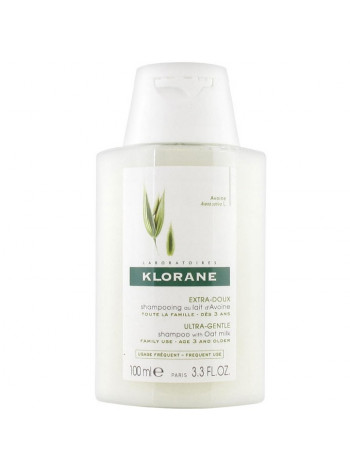 Клоран Шампунь для волос с молочком ОВСА сверхмягкий для частого применения 100 мл