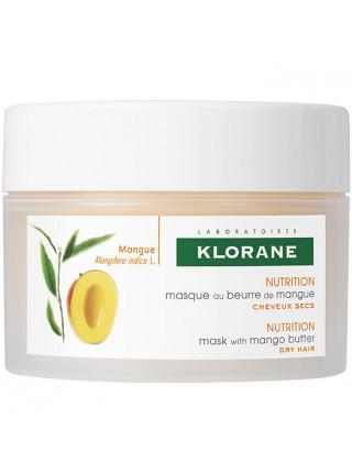 Клоран Маска для волос с маслом МАНГО питательно-восстанавливающая 150 мл