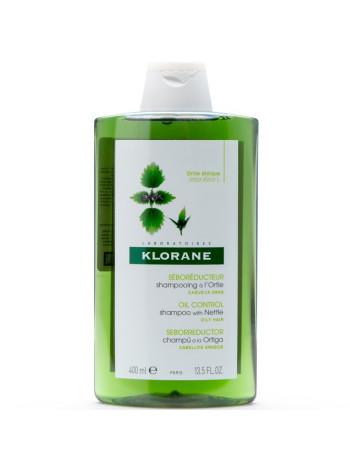 Клоран Шампунь для волос с экстрактом КРАПИВЫ себорегулирующий для жирных волос 400 мл