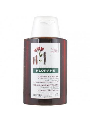 Клоран Шампунь для волос с экстрактом ХИНИНА и витаминами В укрепляющий 100 мл
