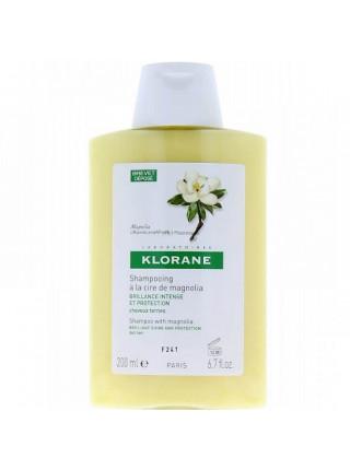 Клоран Шампунь для волос с воском МАГНОЛИИ для интенсивного блеска и защиты тусклых волос 200 мл