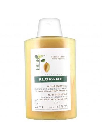 Клоран Шампунь для волос с маслом ФИНИКА пустынного для волос питательный 200 мл