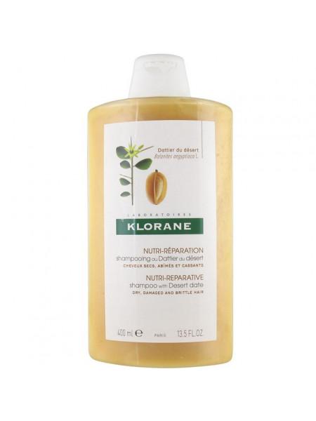 Клоран Шампунь для волос с маслом ФИНИКА пустынного для волос питательный 400 мл
