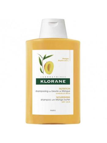 Клоран Шампунь для волос с маслом МАНГО питательный увлажняющий для сухих и поврежденных волос 200 мл