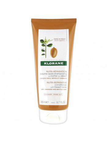 Клоран Бальзам-ополаскиватель для волос с молочком ФИНИКА пустынного питательный 200 мл
