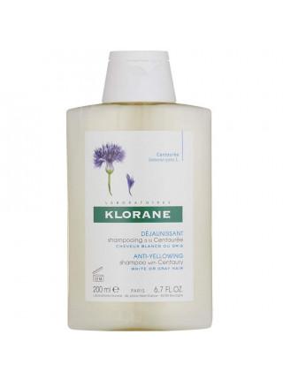 Клоран Шампунь для волос с экстрактом ВАСИЛЬКА для седых волос 200 мл